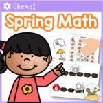 Spring Theme Math Activities for Preschool and Pre-K