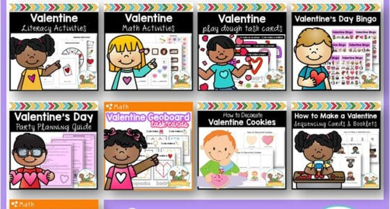 The Ultimate Valentine's Day Lesson Plan Bundle