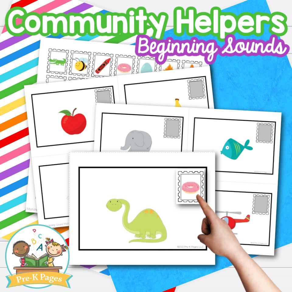 Community Helpers Beginning Sounds