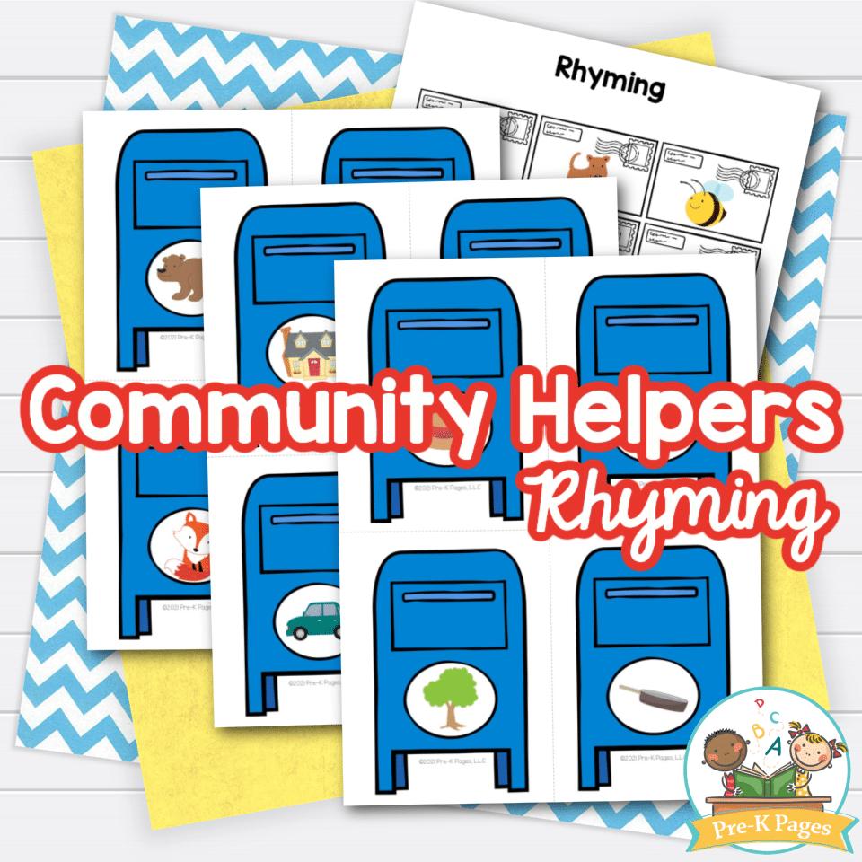 Community Helpers Rhyming