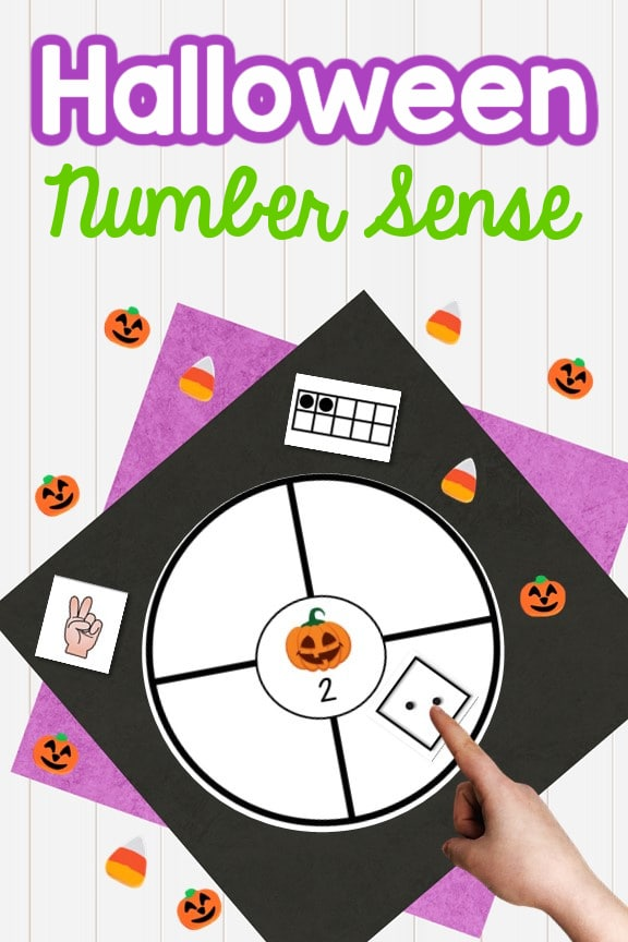 Halloween Number Sense Activity